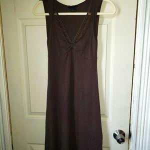 Express lace detail dress
